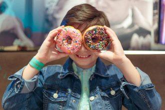 Krispy Kreme's Independence Day Treat