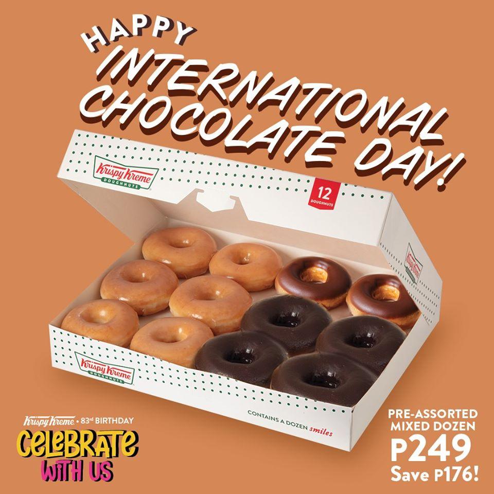 Krispy Kreme International Chocolate Day Promo