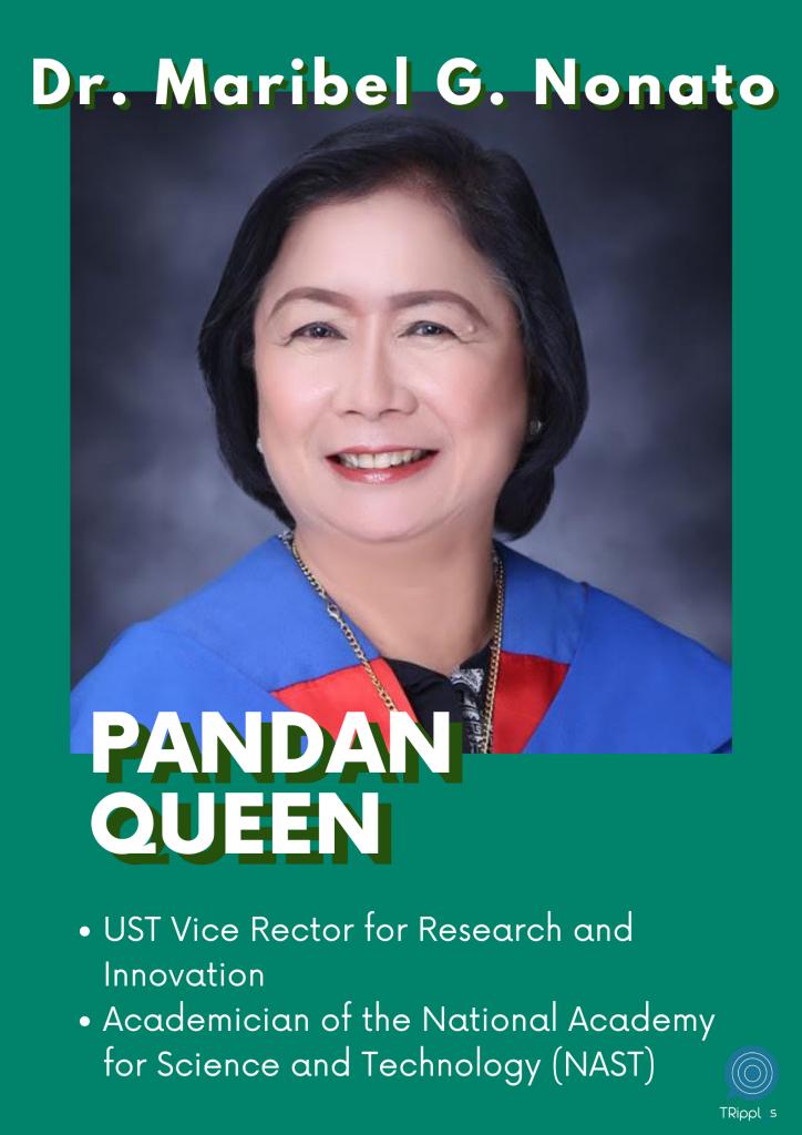 pandan queen Dr. Maribel G. Nonato