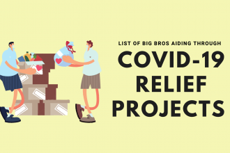 LIST of big bros aiding through covid relief projects