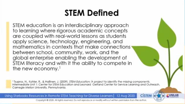 STEM definition