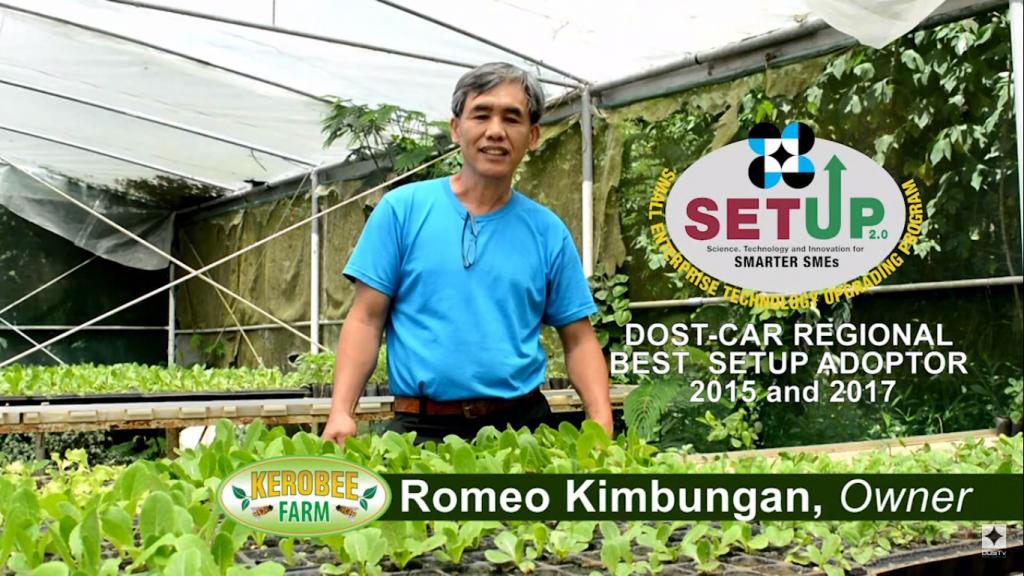 Balik-bayan OFWs Can Be Technopreneurs w/ DOST-SETUP featuring Romeo Kimbungan, Kerobee Farms