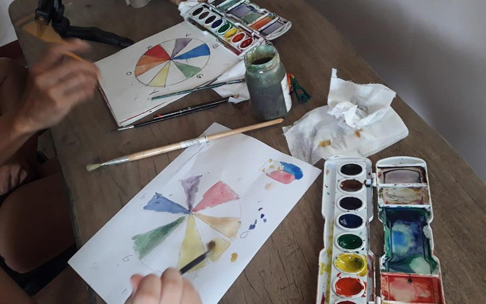 learn arts at home with Yvette Co