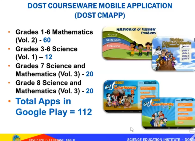 DOST Courseware Mobile Application