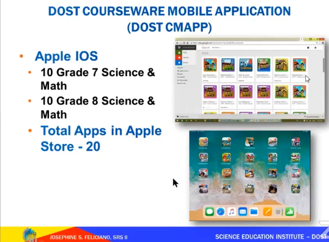 DOST Courseware iOS Apple